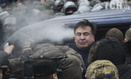 """Не бійтеся нічого: Саакашвілі закликав українців прийти на """"Марш за імпічмент"""""""