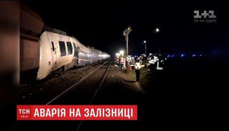 В Германии столкнулись два поезда