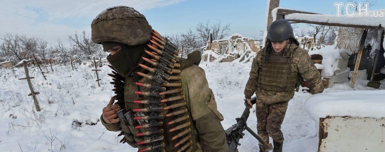 За добу жоден український боєць не постраждав - штаб АТО