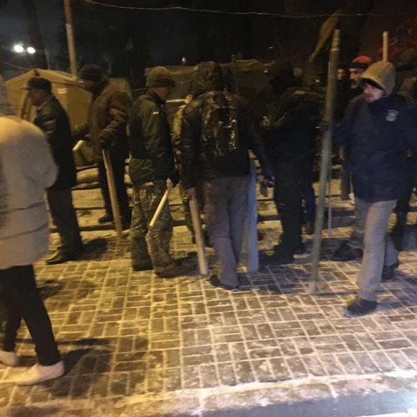 Искали Саакашвили: полиция официально прокомментировала штурм возле Верховной Рады