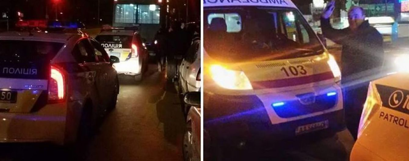 На Троещине пьяные пассажиры устроили драку в троллейбусе, есть пострадавшие