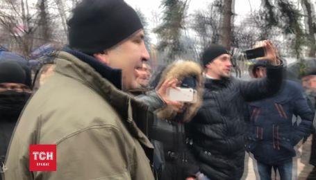 Саакашвили избегает вопроса о своем возможном задержании