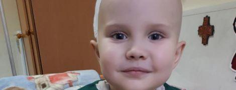 Велетенська пухлина мозку вразила 5-річного Максима