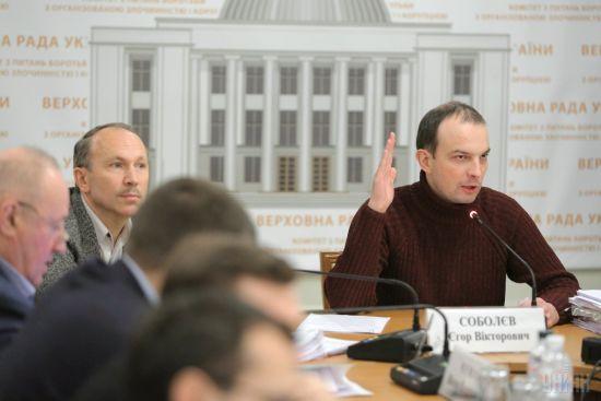 Евросоюз предостерег Раду от увольнения Соболева с должности главы антикоррупционного комитета