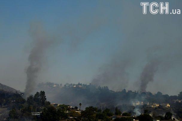 Пожежі в Каліфорнії
