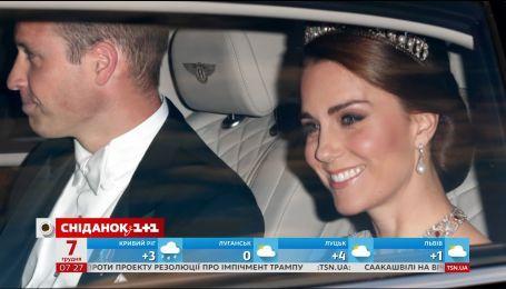 Кейт Миддлтон надела тиару, котору носила принцесса Диана