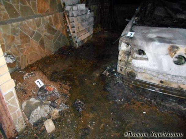 В Харькове неизвестные сожгли авто судьи
