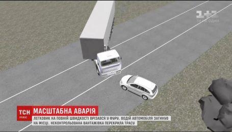 ДТП на окраине Киева: водитель грузовика рассказал о пережитом