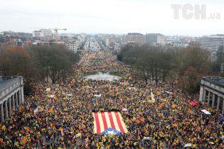 В Бельгии 50 тысяч человек вышли на митинг за независимость Каталонии