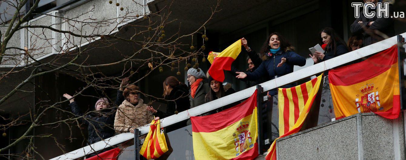 Тысячи сторонников независимости Каталонии протестовали в Барселоне