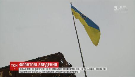 Боевики из минометов обстреляли Авдеевку