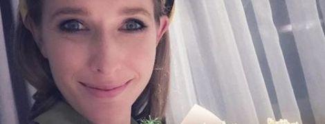 Без макияжа и в платке: Катя Осадчая поделилась необычным фото