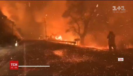 Каліфорнія продовжує страждати від жахливих пожеж