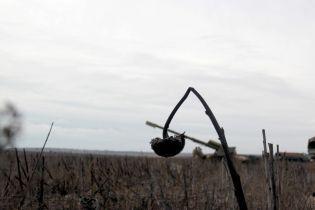 На Донбассе в результате минометного обстрела погиб один украинский военный