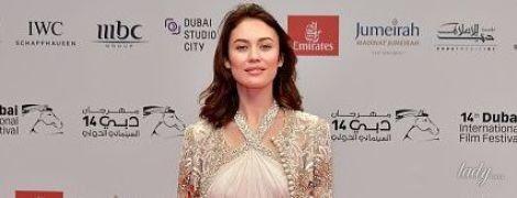 Ольга Куриленко блистала на красной дорожке в красивом платье
