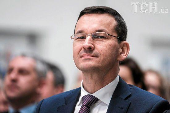 """Польський прем'єр пояснив, навіщо потрібний закон про заборону """"бандерівської ідеології"""""""