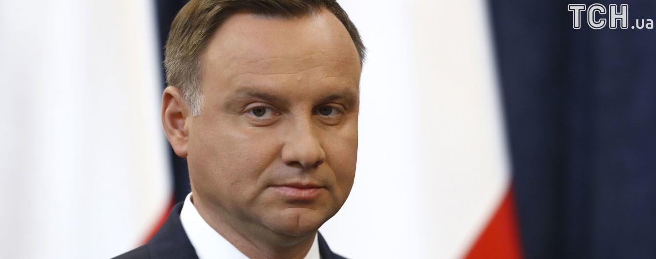 """Президента Польщі закликали зібрати радбез через реакцію світу на """"антибандерівський"""" закон"""