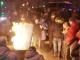 """Автобусная """"баррикада"""" и силовики в экипировке. Что происходит под СИЗО, где удерживают Саакашвили"""