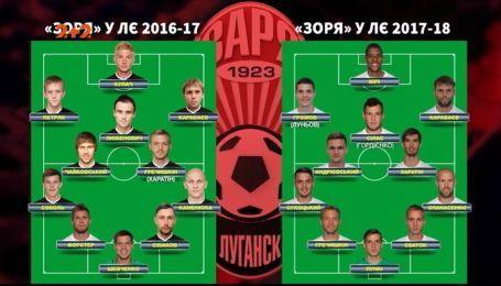 Как луганская Заря прогрессирует в Лиге Европы сезонов 2016/2017 и 2017/2018