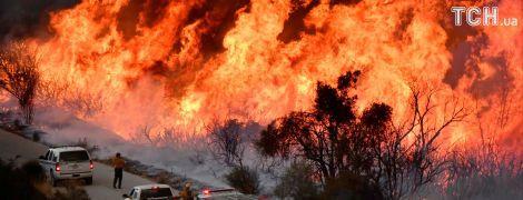У Каліфорнії не вщухають страшні пожежі: 9 тисяч пожежників не здатні подолати стихію