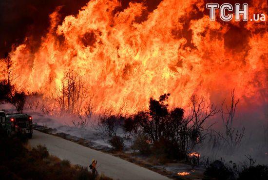 У каліфорнійських пожежах можуть згоріти маєтки Джорджа Лукаса та Міли Куніс