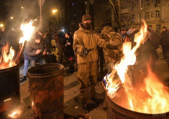 Біля СІЗО із затриманим Саакашвілі перекрили вулицю
