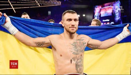 Украинский боксер Василий Ломаченко в четвертый раз защитил пояс чемпиона мира