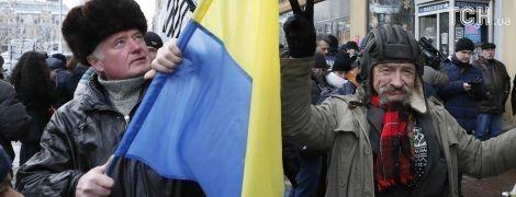 Под Печерским судом собираются сторонники Саакашвили. Полиция заблокировала въезды