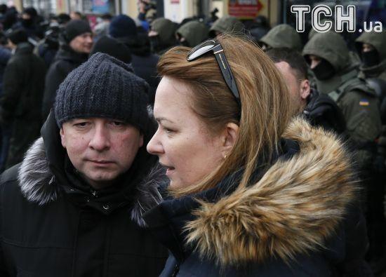 Дружина та адвокати Сакашвілі вже прибули до Печерського суду