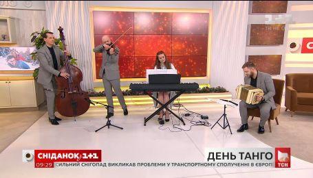 """""""Ой, верше, мій верше"""" в ритме танго – Kiev Tango Project"""