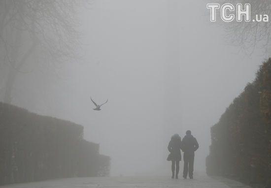Киян попередили про сильний туман вночі