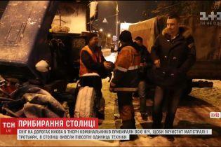 Віталій Кличко залишився незадоволеним роботою очисної техніки в Києві