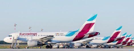 Німецький лоукостер Eurowings має намір вийти на український ринок
