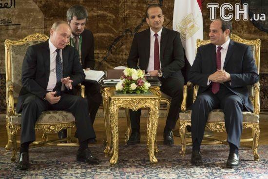 Єгипет підписав з Росією угоду про будівництво першої в країні АЕС