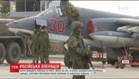 Путін у Сирії оголосив про завершення військової операції