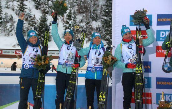 Жіноча збірна України з біатлону з наступного сезону матиме лише 5 представниць