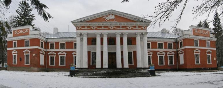 село Верхівня, Житомирщина, палац Ганської та Оноре де Бальзака