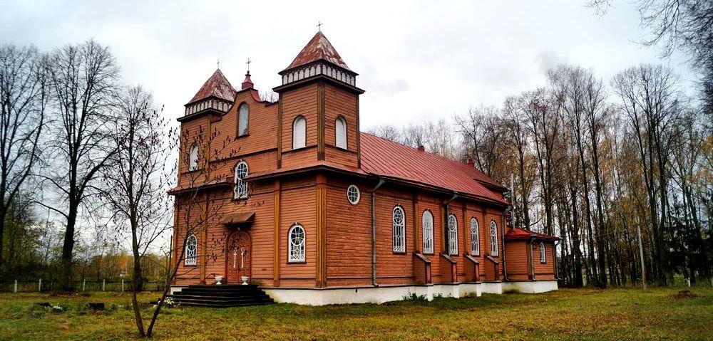 Село Лебедівка, Костел святого Станіслава, Житомирщина