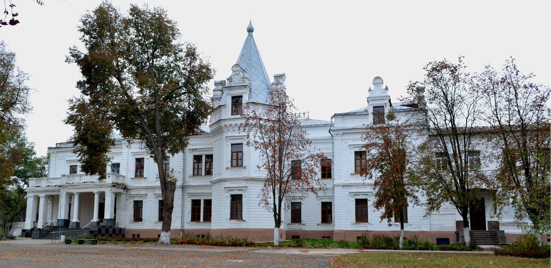 Палац Бережинських-Терещенків, село Андрушівка, Житомирщина
