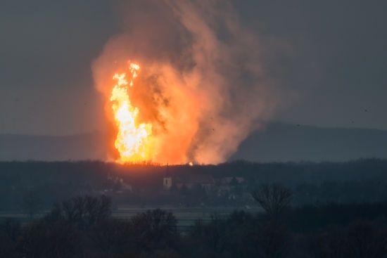 В Австрії вибухнув один з найбільших газопроводів Європи