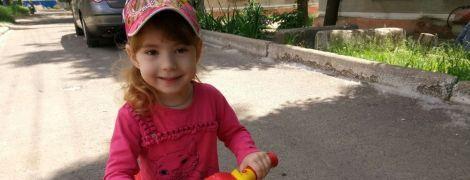 4-річна Веронічка мріє самостійно бігати разом з однолітками