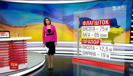 В Киеве хотят установить флагшток с флагом Украины за 47 миллионов гривен