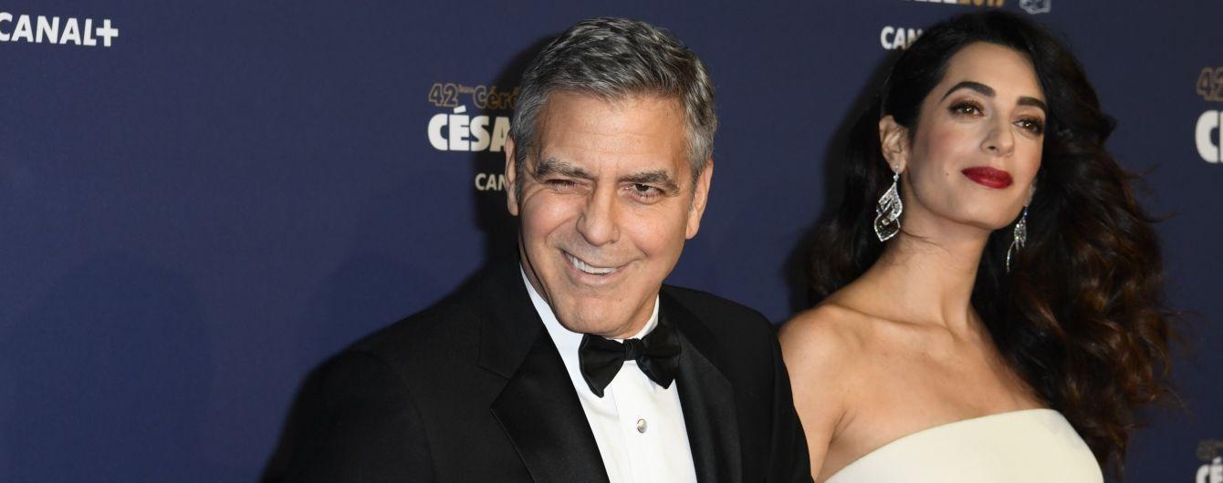 Батько Джорджа Клуні про його дружину Амаль: Він вдало одружився