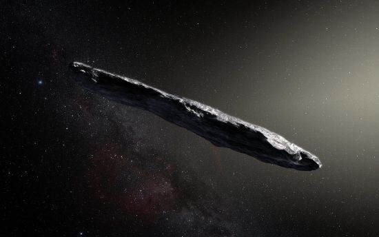 Учені встановили походження таємничого астероїда, який схожий на сигару