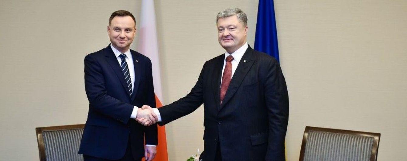 В Варшаве не считают встречу Порошенко и Дуды прорывом в выходе из кризиса двусторонних отношений