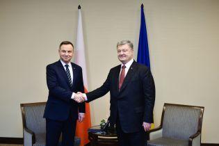 У Варшаві не вважають зустріч Порошенка і Дуди проривом у виході з кризи двосторонніх відносин