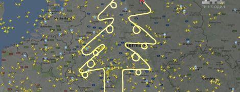 Дивні маневри Airbus над Німеччиною наполохали глядачів по всьому світу