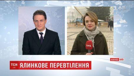 На Софійській площі почали прикрашати головну ялинку країни