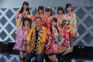 Дмитрий Комаров снялся в клипе популярной японской группы