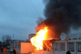 На Днепропетровщине вспыхнул пожар в городке для беженцев: погиб ребенок